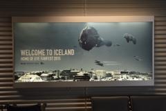 Fanfest 2015 Ankunft Flughafen KEF